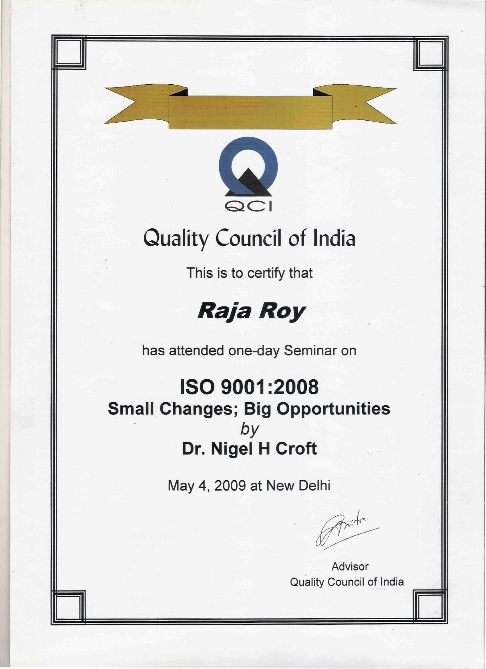 Iso consultants in kolkata certified internal auditor for ts 16949 trained by dr nigel croft iso technical committee member on iso 90012015 small changes big opportunities 1betcityfo Gallery